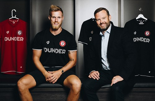 Kalas signs for club-record fee