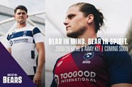 Gallery: Bears reveal 2019/20 home and away kits