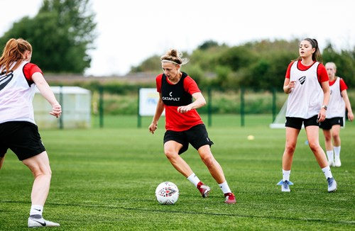Gallery: City Women back in training