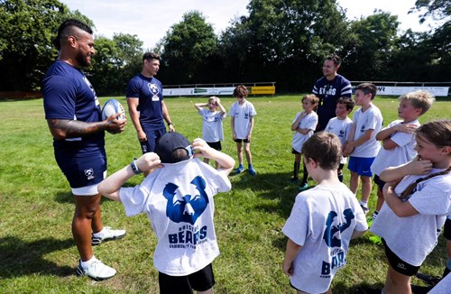 Hughes and Lindsay visit Nailsea & Backwell camp