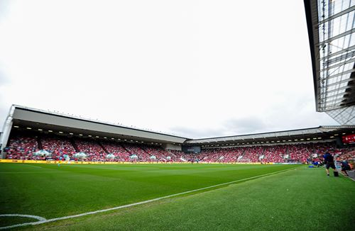 Clothing collection points at Ashton Gate