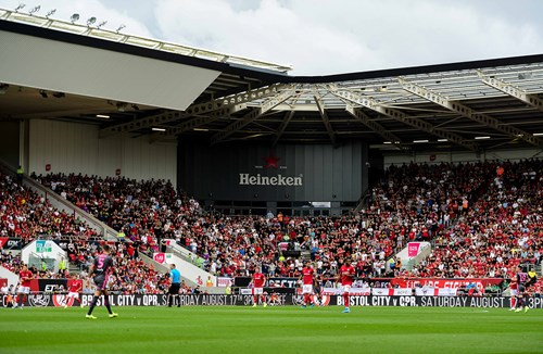 Watch City versus Barnsley for £10 at Ashton Gate
