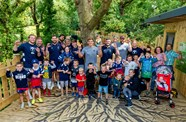 Gallery: Players visit Bear Wood at Wild Place Project