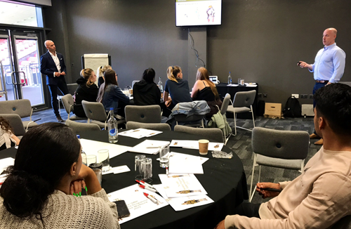 Charities team up with SMBP for resilience workshop