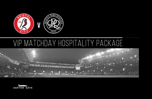Bristol City Hospitality available for QPR match