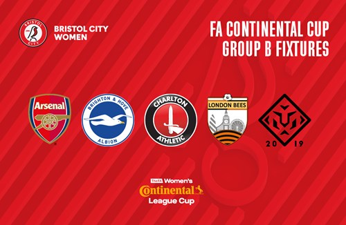 City Women's 2019/20 FA Continental Cup fixture confirmed