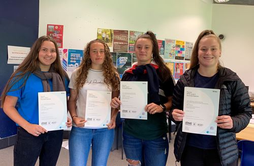 Results day success for Robins Foundation students