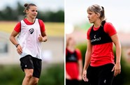 International call-up for Dykes and Evans