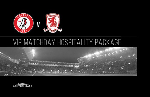 Hospitality available for Middlesborough clash