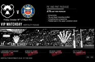 Final hospitality package available for Bears v Bath showdown