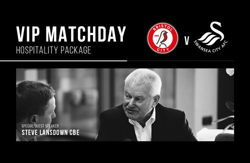 Bristol City Hospitality available for Swansea