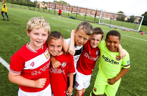 Football camps return to South Bristol