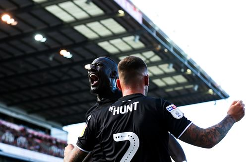 'The supporters spurred us on' - Hunt