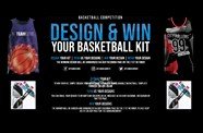 Design and win your own basketball kit, courtesy of Team Colours