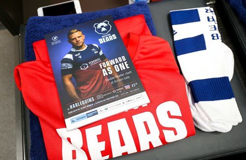Feature your club in the Bristol Bears matchday programme
