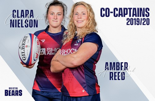 Reed and Nielson named as co-captains