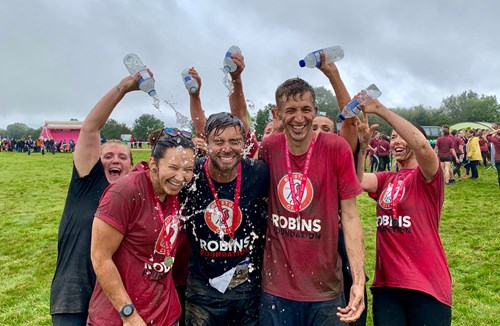 Running Robins raise money for Mind and the NHS