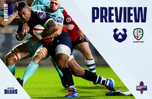 Preview: London Irish (h) - Premiership Cup