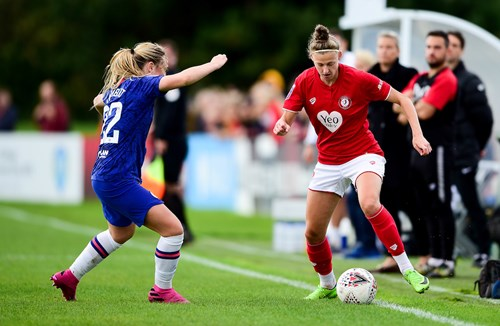 Report: Bristol City Women 0-4 Chelsea