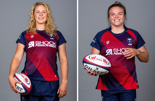 Reed and Bern awarded full-time Red Roses contracts