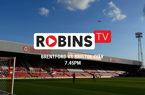 Domestic livestream for Brentford test
