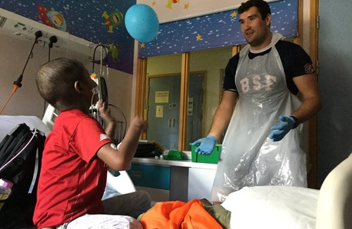 Foundation delivers smiles at Bristol Royal Hospital for Children