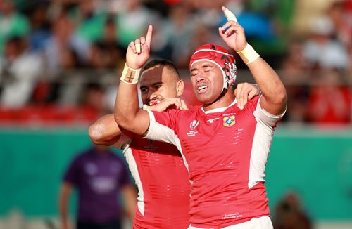 Piutau bows out with try in Tonga victory