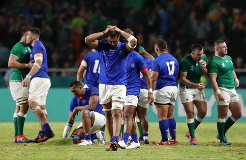 Samoa sign off World Cup with defeat to Ireland