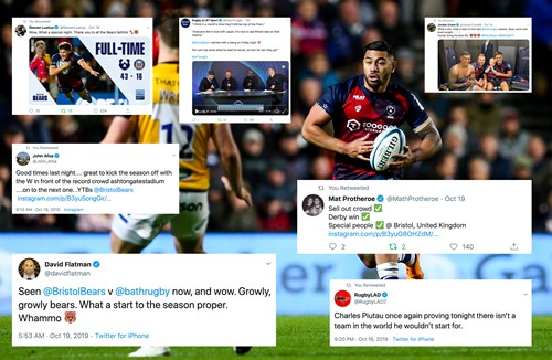 Social media round-up: Bears wow capacity crowd