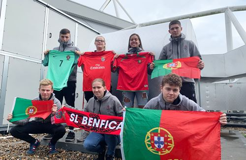 Robins Foundation students are heading to Portugal