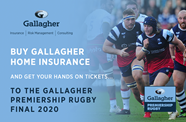 Get your hands on Gallagher Premiership Final tickets