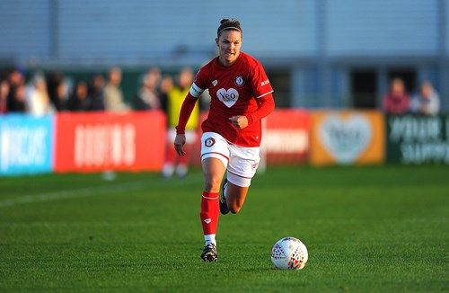 Report: Bristol City Women 1-2 Tottenham Hotspur