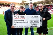 Robins Lotto jackpot prize exceeds £4000