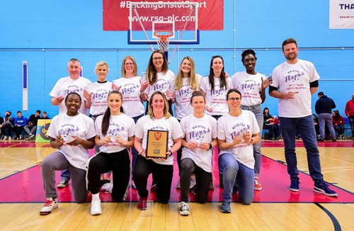 Flyers Women shortlisted for Bristol Post Sports Award