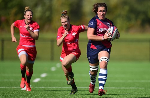 Bears Women quintet named in Wales squads for first two autumn tests