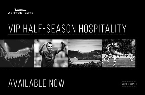 Half season hospitality packages now on sale