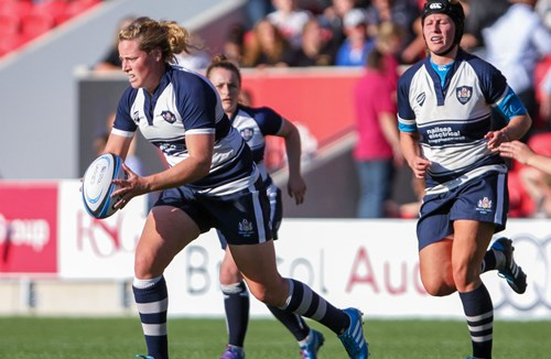 Bristol Ladies' Partnership With Bristol Rugby Continues To Flourish