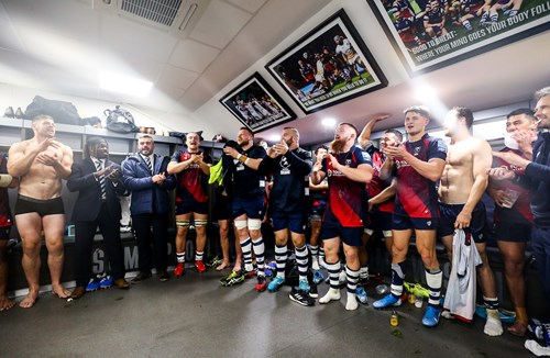 Gallery: Full time reaction and changing room celebrations