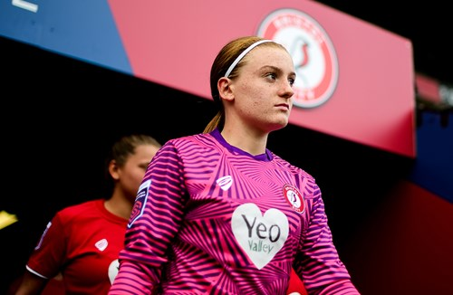 Baggaley joins up with senior Lionesses