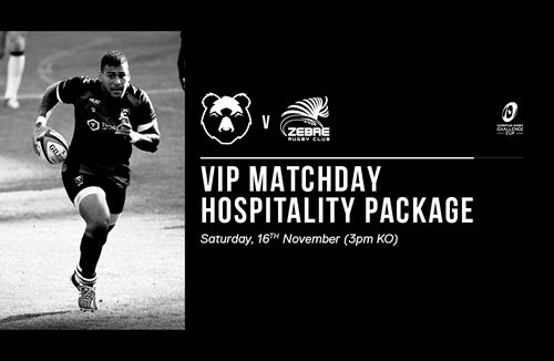 European Rugby hospitality offer for Zebre match
