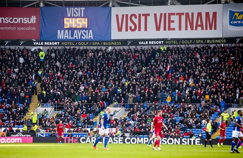 Relive a memorable win at the Cardiff City Stadium