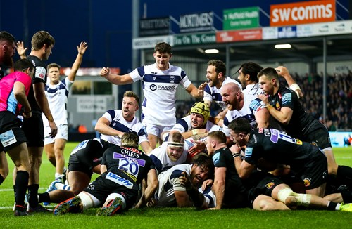As it happened: Exeter Chiefs 17-20 Bristol Bears