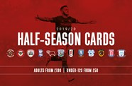 Half-season cards on sale