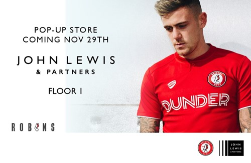 Bristol Sport pop-up store opens ahead of Christmas