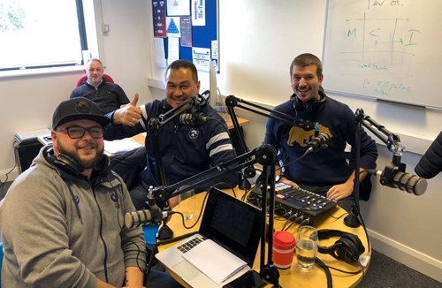 Lansdown and Lam on the official podcast!