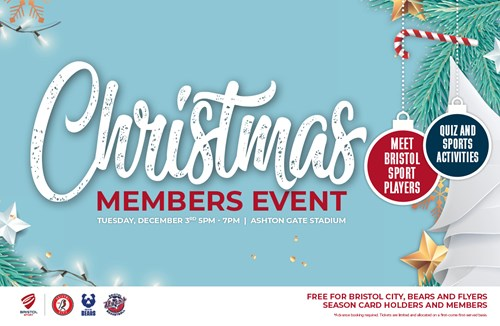 Junior members festive event next month