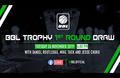 Flyers to discover BBL Trophy opponents LIVE on Facebook