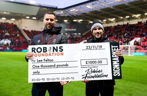 Nottingham Forest 50/50 Matchday Draw winners