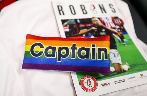City show support for rainbow laces campaign