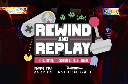 Rewind and Replay is coming to Ashton Gate this Easter!